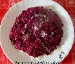 ricettevegan.org risotto rosso con carote viola 250x212 - Risotto Rosso con Carote Viola e Besciamella di Riso