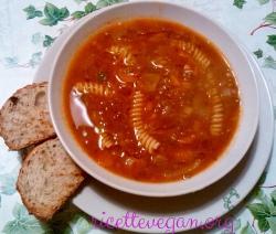 ricettevegan.org zuppa di lenticchie con fusilli 250x212 - Zuppetta Veloce di Lenticchie con Fusilli