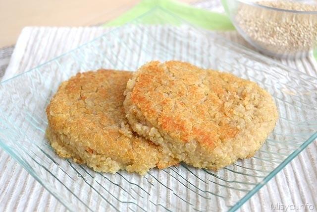 hamburger di quinoa 640x427 - Hamburger di quinoa