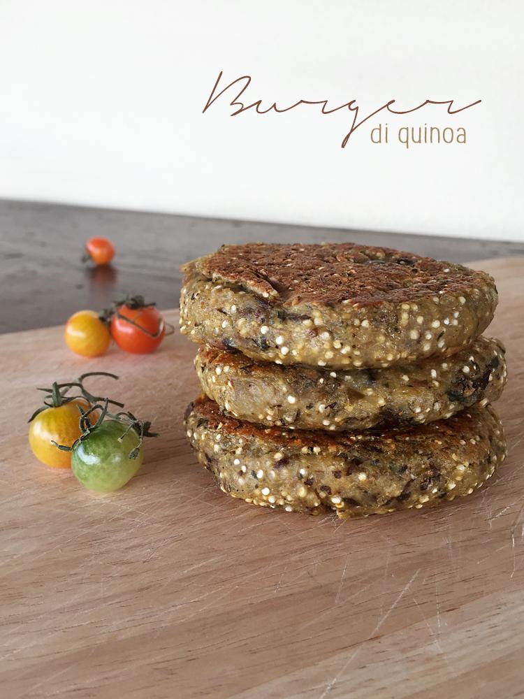 burger quinoa 3 - Burger di quinoa