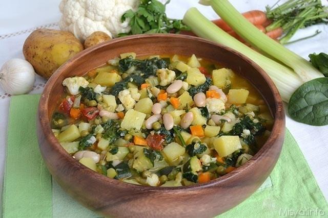 minestrone ricetta 640x427 - Minestrone di verdure