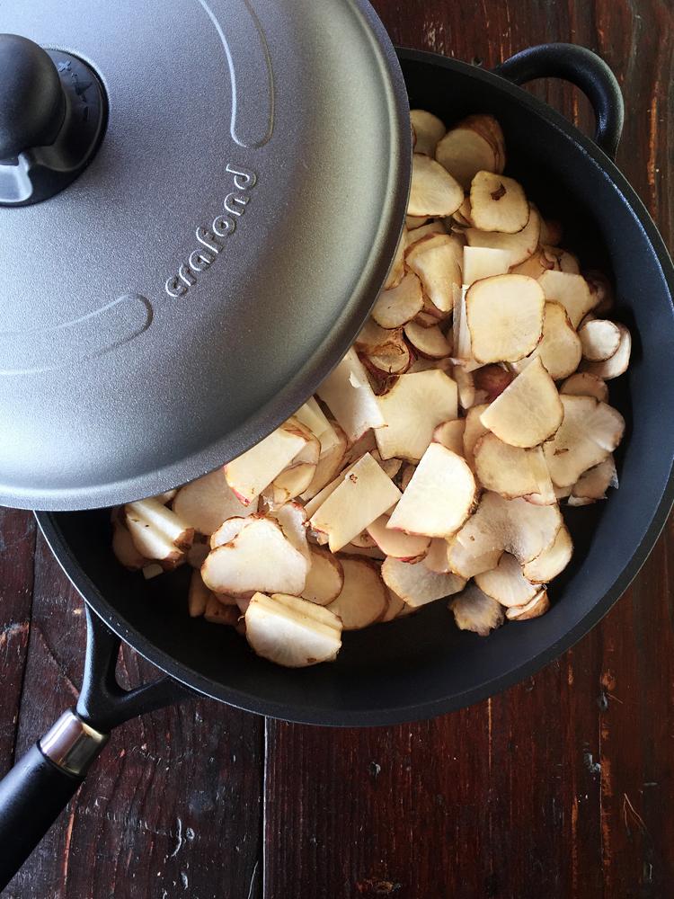 crafond topinambur - Lasagne con crema di topinambur