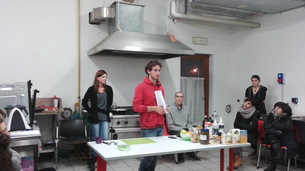 CORSO PASTICCERIA VEG 2a serata 8 - 06.02.2015 - Corso di Pasticceria Vegana Tassullo seconda serata