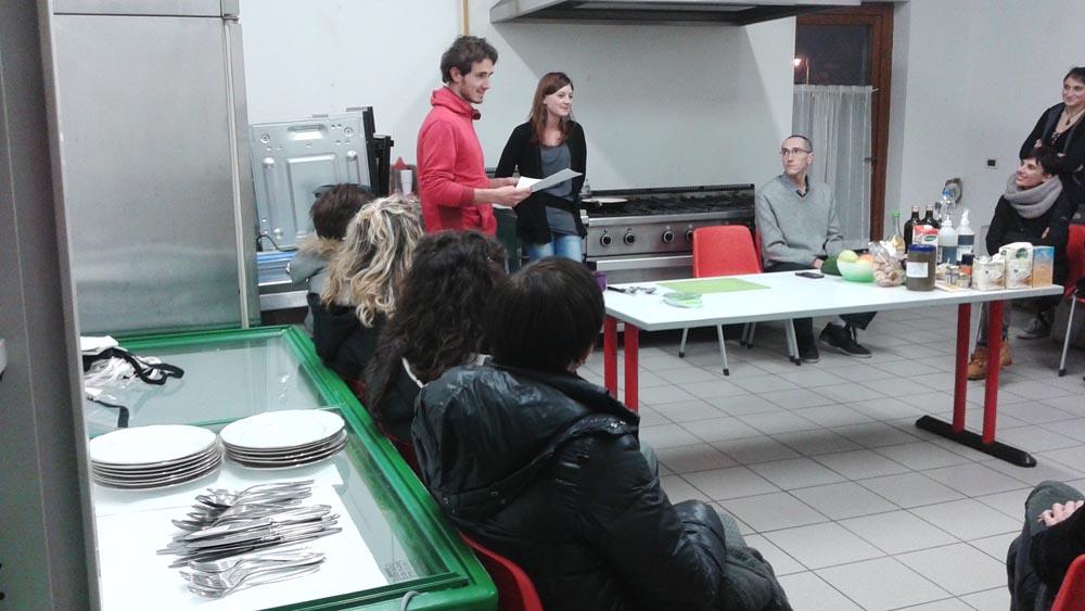CORSO PASTICCERIA VEG 2a serata 9 - 06.02.2015 - Corso di Pasticceria Vegana Tassullo seconda serata