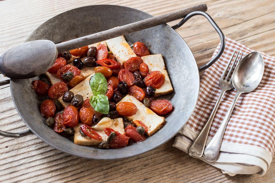 Tofu alla mediterranea - 5 gustose ricette vegetariane con il tofu