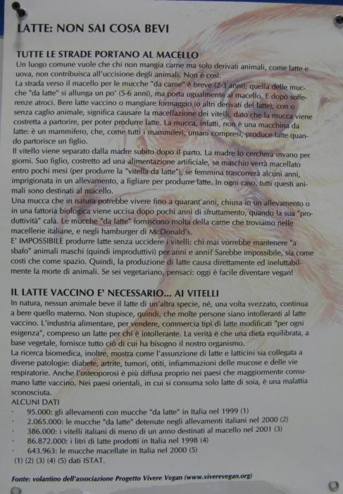 f la cosa giusta ottobre 2012 20121101 1259379431 - MOSTRA SUI MACELLI - FA LA COSA GIUSTA OTTOBRE 2012 - 2012-