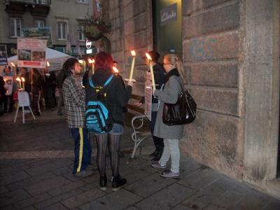 fiaccolata per gli ani 20130212 1163405267 960x300 - 03 dicembre 2011 Trento fiaccolata per denunciare lo sterminio degli animali nel periodo natalizio (e non solo!)