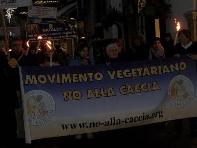 fiaccolata per gli ani 20130212 1187946322 960x300 - 03 dicembre 2011 Trento fiaccolata per denunciare lo sterminio degli animali nel periodo natalizio (e non solo!) - 2011-