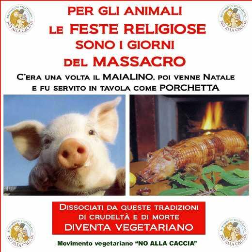 fiaccolata per gli animali 20111204 1068253676 - 03 dicembre 2011 Trento fiaccolata per denunciare lo sterminio degli animali nel periodo natalizio (e non solo!)