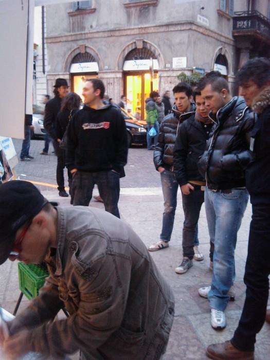 img 1744 20110313 1781529268 - TRENTO - 12.03.2011 - TAVOLO INFORMATIVO SULLA VIVISEZIONE - 2011-