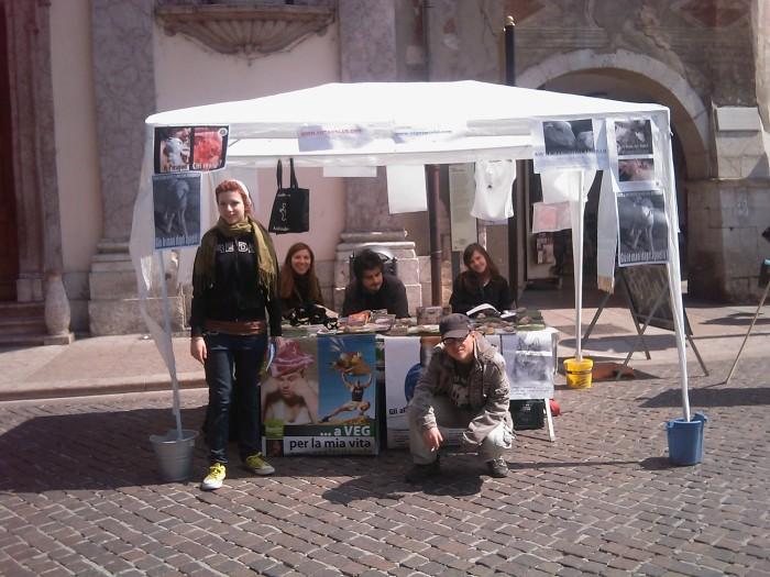 img 1874 20110417 1353264982 - 16 aprile 2011 - TAVOLO INFORMATIVO SU MASSACRO AGNELLI E CAPRETTI PERIODO PASQUALE - 2011-
