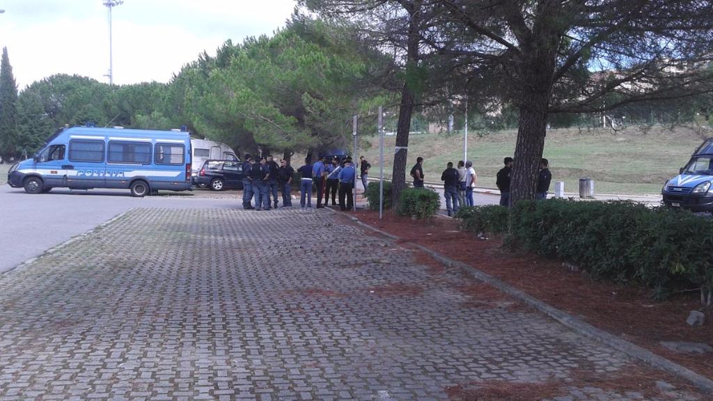 immagini e video 2015 461 - Manifestazione contro il Palio di Siena - 16.08.2015