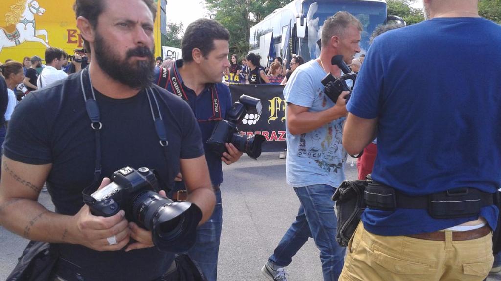 immagini e video 2015 464 - Manifestazione contro il Palio di Siena - 16.08.2015