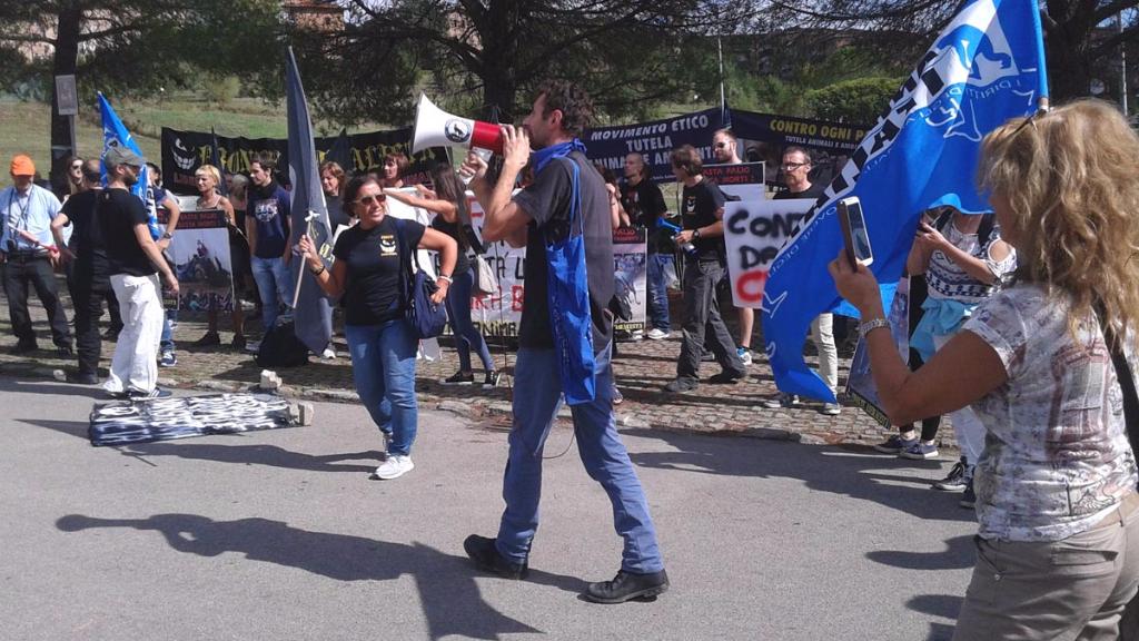 immagini e video 2015 478 - Manifestazione contro il Palio di Siena - 16.08.2015