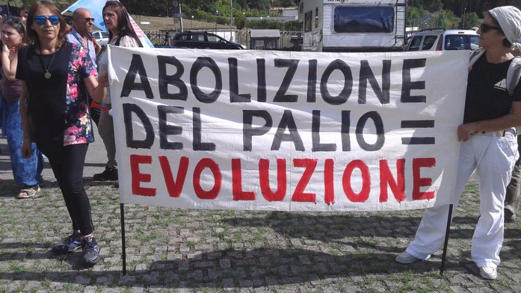 immagini e video 2015 481 - Manifestazione contro il Palio di Siena - 16.08.2015