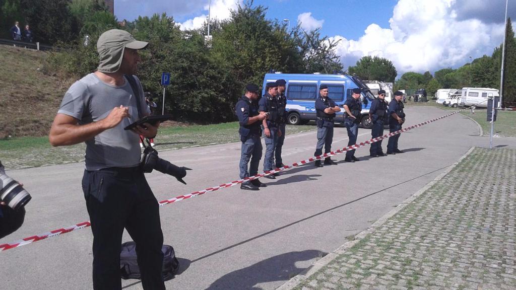 immagini e video 2015 487 - Manifestazione contro il Palio di Siena - 16.08.2015