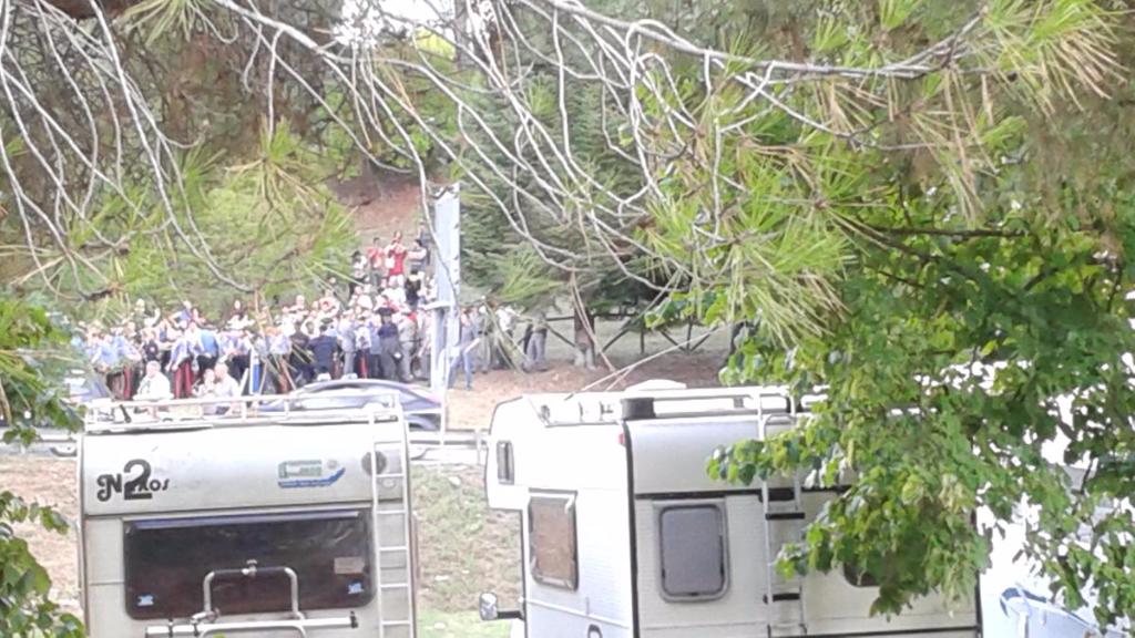 immagini e video 2015 498 - Manifestazione contro il Palio di Siena - 16.08.2015