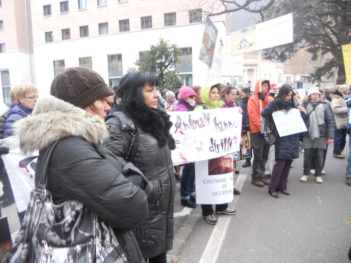 manifestazione contro lo sfruttamento degli anim 20130212 1252798461 - Bolzano 04.02.2012 manifestazione contro lo sfruttamento degli animali - 2012-