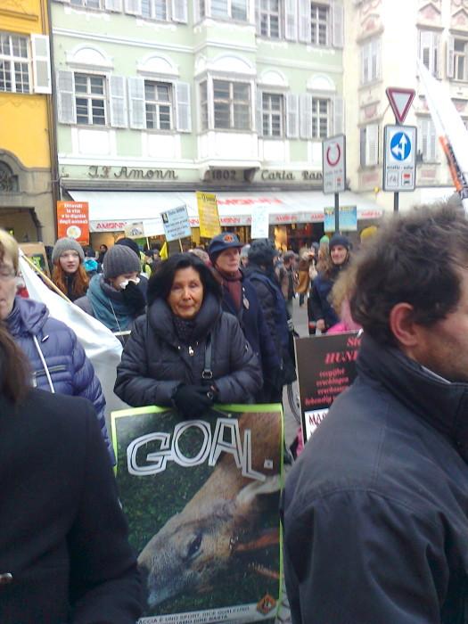 manifestazione contro lo sfruttamento degli animali 20120205 1026554557 - Bolzano 04.02.2012 manifestazione contro lo sfruttamento degli animali - 2012-