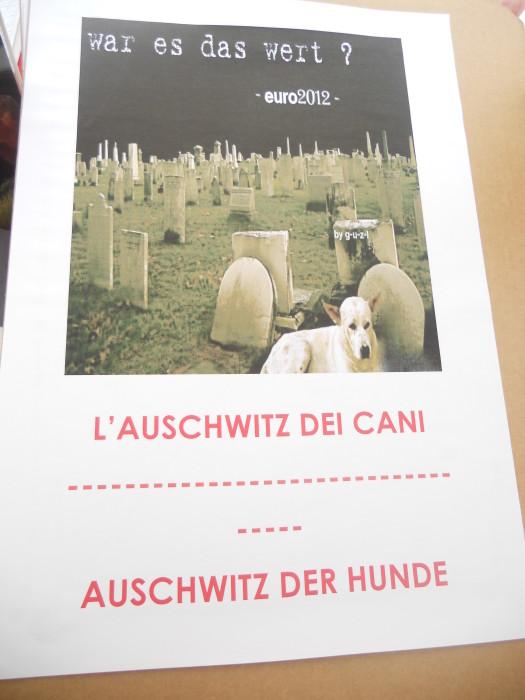 manifestazione contro lo sfruttamento degli animali 20120205 1079466246 - Bolzano 04.02.2012 manifestazione contro lo sfruttamento degli animali - 2012-