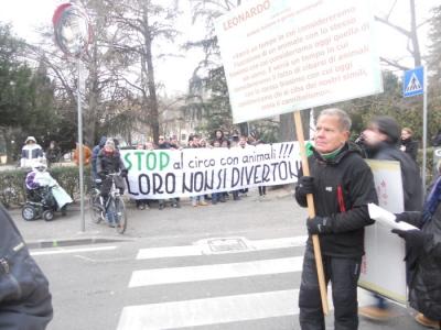manifestazione contro lo sfruttamento degli animali 20120205 1226944508 960x300 - Bolzano 04.02.2012 manifestazione contro lo sfruttamento degli animali