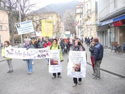 manifestazione contro lo sfruttamento degli animali 20120205 1314267854 960x300 - Bolzano 04.02.2012 manifestazione contro lo sfruttamento degli animali