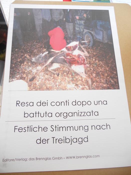 manifestazione contro lo sfruttamento degli animali 20120205 1406376749 - Bolzano 04.02.2012 manifestazione contro lo sfruttamento degli animali - 2012-