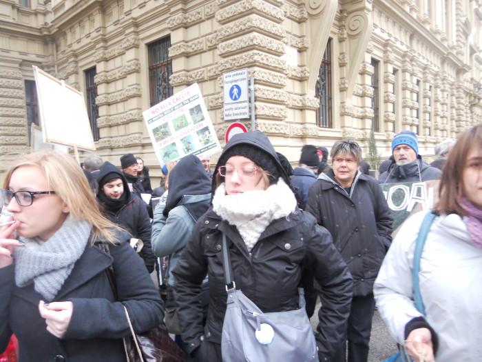 manifestazione contro lo sfruttamento degli animali 20120205 1485425162 - Bolzano 04.02.2012 manifestazione contro lo sfruttamento degli animali - 2012-