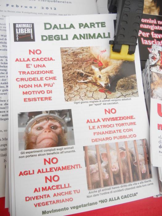 manifestazione contro lo sfruttamento degli animali 20120205 1575504493 - Bolzano 04.02.2012 manifestazione contro lo sfruttamento degli animali