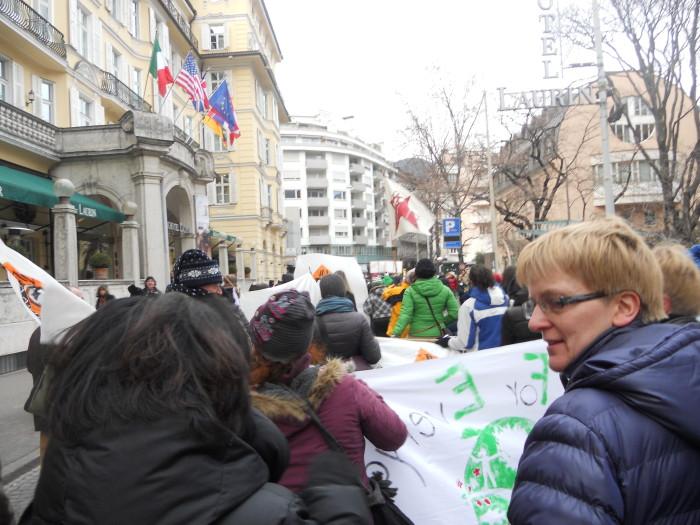 manifestazione contro lo sfruttamento degli animali 20120205 1581971009 - Bolzano 04.02.2012 manifestazione contro lo sfruttamento degli animali - 2012-