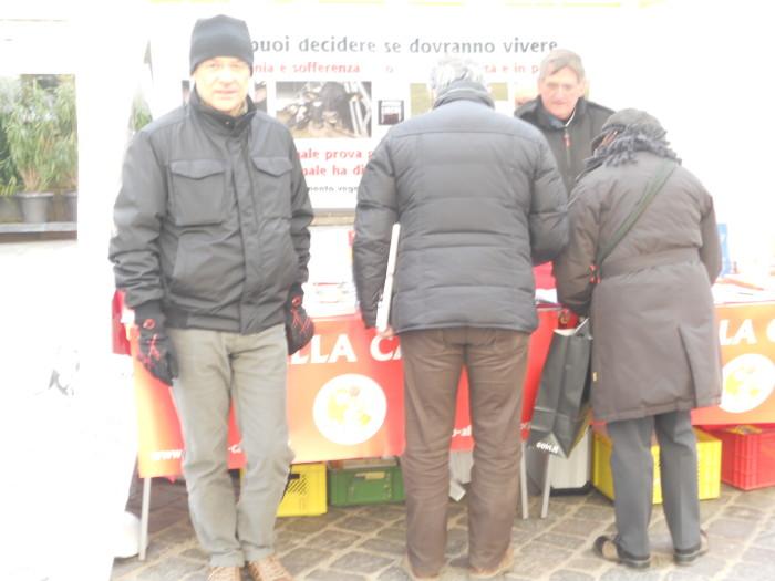 manifestazione contro lo sfruttamento degli animali 20120205 1657088305 - Bolzano 04.02.2012 manifestazione contro lo sfruttamento degli animali