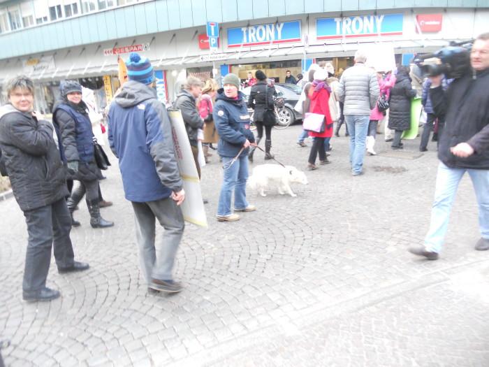 manifestazione contro lo sfruttamento degli animali 20120205 1722029811 - Bolzano 04.02.2012 manifestazione contro lo sfruttamento degli animali - 2012-