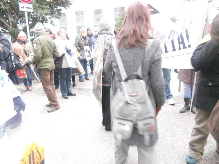 manifestazione contro lo sfruttamento degli animali 20120205 1728317970 - Bolzano 04.02.2012 manifestazione contro lo sfruttamento degli animali - 2012-