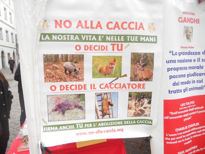 manifestazione contro lo sfruttamento degli animali 20120205 1741176086 - Bolzano 04.02.2012 manifestazione contro lo sfruttamento degli animali - 2012-