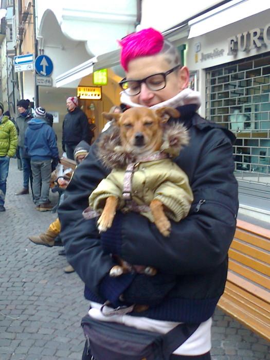 manifestazione contro lo sfruttamento degli animali 20120205 1945547258 - Bolzano 04.02.2012 manifestazione contro lo sfruttamento degli animali