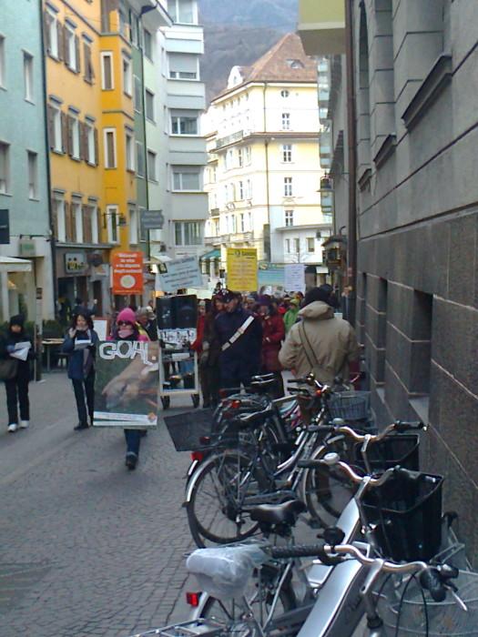 manifestazione contro lo sfruttamento degli animali 20120205 1975178447 - Bolzano 04.02.2012 manifestazione contro lo sfruttamento degli animali - 2012-
