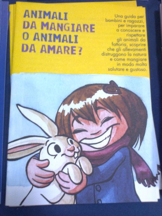 mostra animalista sui macelli 20111101 1012796477 - FA' LA COSA GIUSTA 2011 - MOSTRA ANIMALISTA