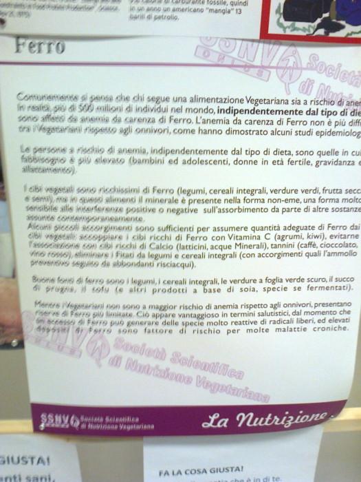 mostra animalista sui macelli 20111101 1133867369 - FA' LA COSA GIUSTA 2011 - MOSTRA ANIMALISTA