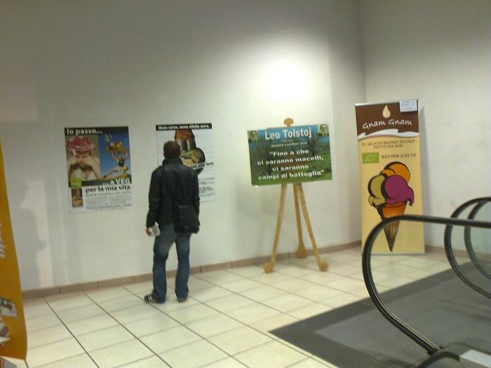 mostra animalista sui macelli 20111101 1186324328 - FA' LA COSA GIUSTA 2011 - MOSTRA ANIMALISTA