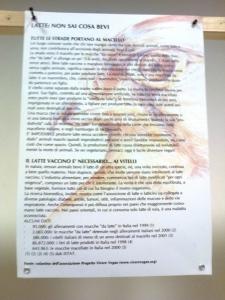 mostra animalista sui macelli 20111101 1475293522 960x300 - FA' LA COSA GIUSTA 2011 - MOSTRA ANIMALISTA