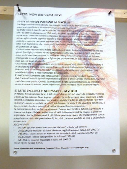 mostra animalista sui macelli 20111101 1475293522 - FA' LA COSA GIUSTA 2011 - MOSTRA ANIMALISTA