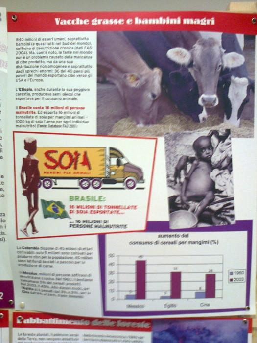 mostra animalista sui macelli 20111101 1696438060 - FA' LA COSA GIUSTA 2011 - MOSTRA ANIMALISTA