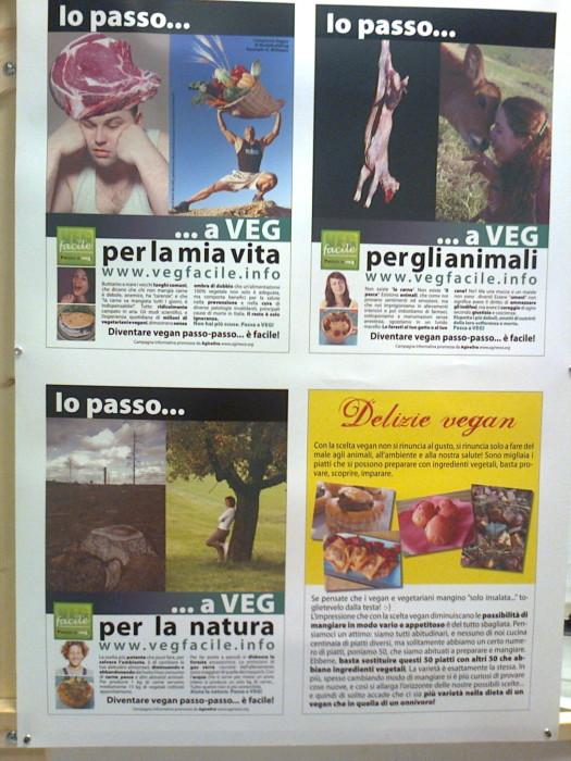 mostra animalista sui macelli 20111101 1779249503 - FA' LA COSA GIUSTA 2011 - MOSTRA ANIMALISTA