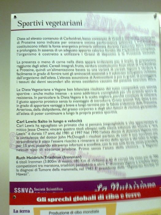 mostra animalista sui macelli 20111101 1887814400 - FA' LA COSA GIUSTA 2011 - MOSTRA ANIMALISTA