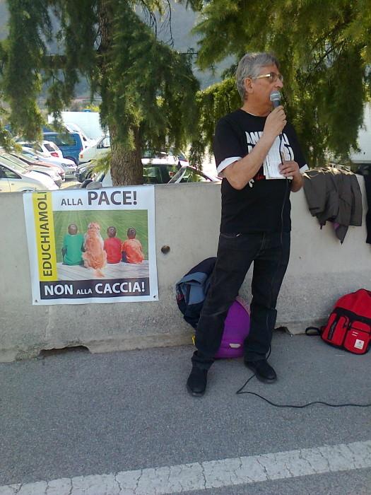 presidio caccia e pe 20130212 1041177959 - Presidio alla Fiera Caccia e Pesca di Riva del Garda 31.03.2012 - 2012-