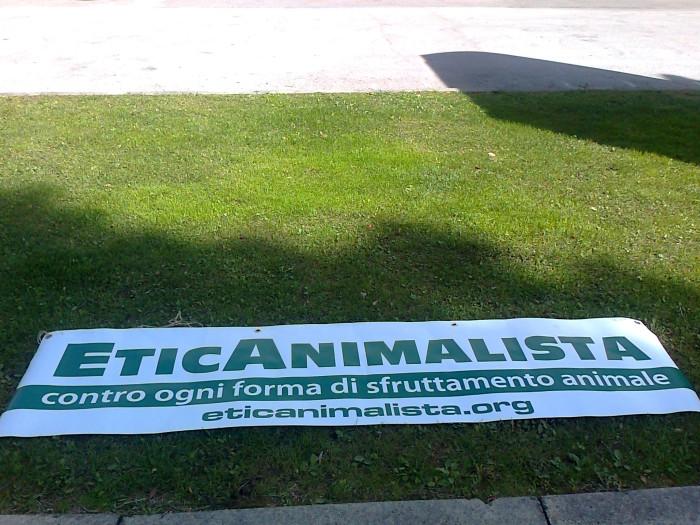 presidio caccia e pe 20130212 1065957927 - Presidio alla Fiera Caccia e Pesca di Riva del Garda 31.03.2012 - 2012-