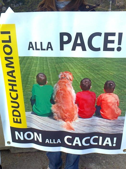 presidio caccia e pe 20130212 1080189514 - Presidio alla Fiera Caccia e Pesca di Riva del Garda 31.03.2012 - 2012-
