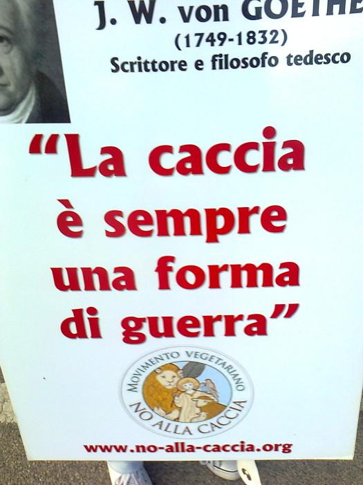 presidio caccia e pe 20130212 1082681107 - Presidio alla Fiera Caccia e Pesca di Riva del Garda 31.03.2012 - 2012-