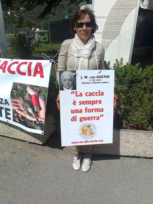 presidio caccia e pe 20130212 1151901503 - Presidio alla Fiera Caccia e Pesca di Riva del Garda 31.03.2012 - 2012-