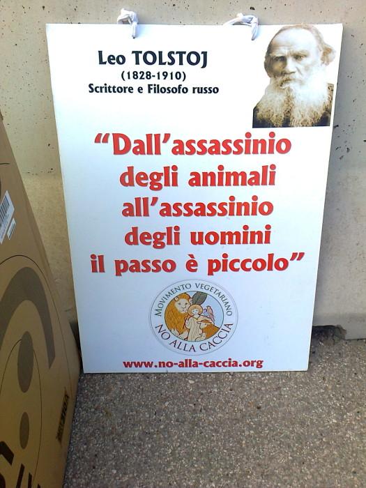 presidio caccia e pe 20130212 1174631626 - Presidio alla Fiera Caccia e Pesca di Riva del Garda 31.03.2012 - 2012-